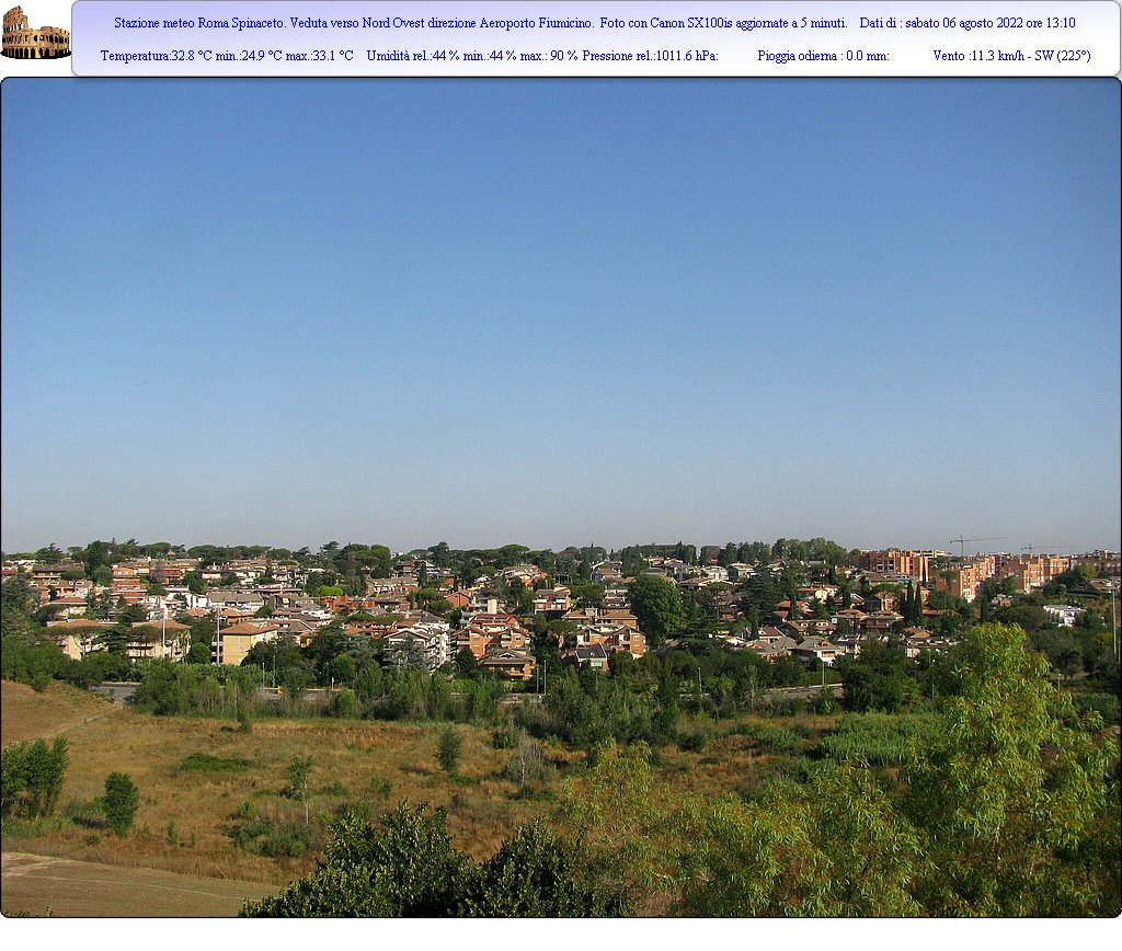 Webcam Roma Panorama