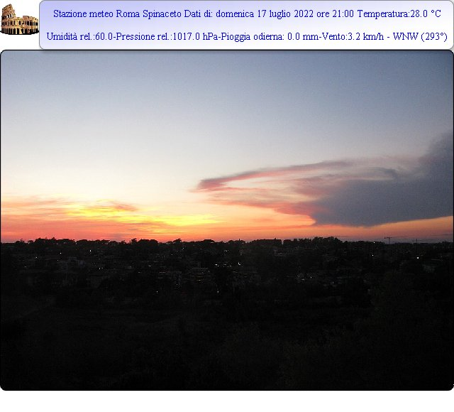 foto ore 21:00